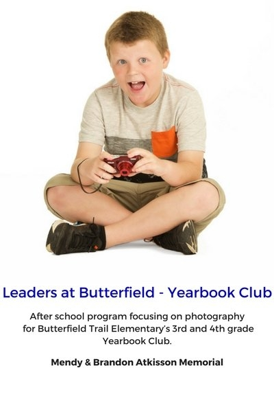 Leaders at Butterfield - Yearbook Club
