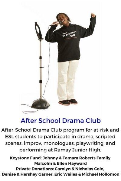 After School Drama Club