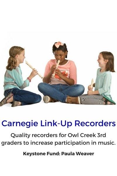 Carnegie Link-Up Recorders