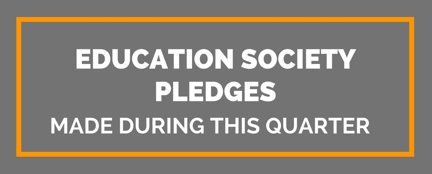 Education Society Pledges (1)