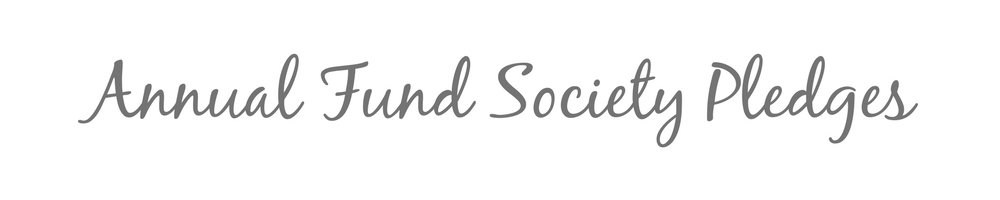 Annual Fund Society