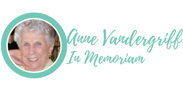 In Memory of Anne Vandergriff graphic
